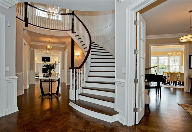 56 Beautiful And Luxurious Foyer Designs-20