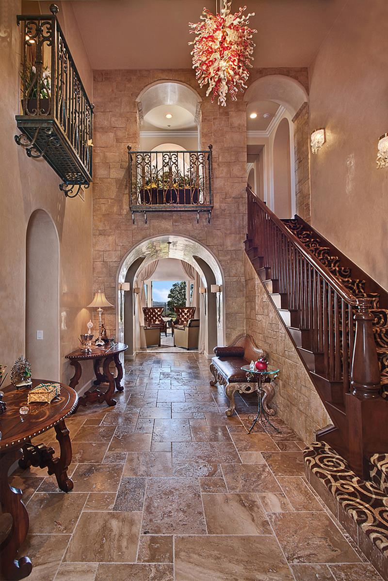 56 Beautiful And Luxurious Foyer Designs-21