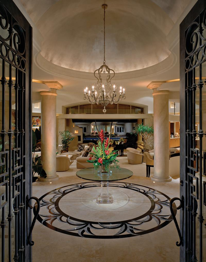 56 Beautiful And Luxurious Foyer Designs-4