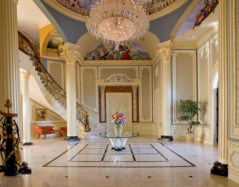 56 Beautiful And Luxurious Foyer Designs-43