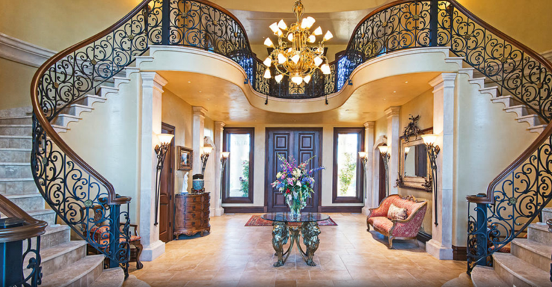 56 Beautiful And Luxurious Foyer Designs-44