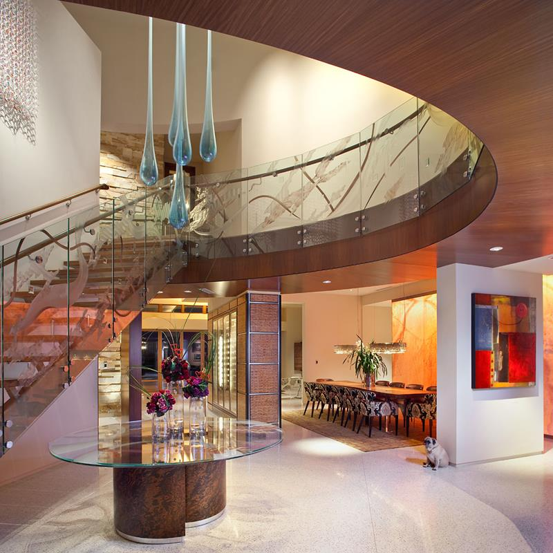56 Beautiful And Luxurious Foyer Designs-51