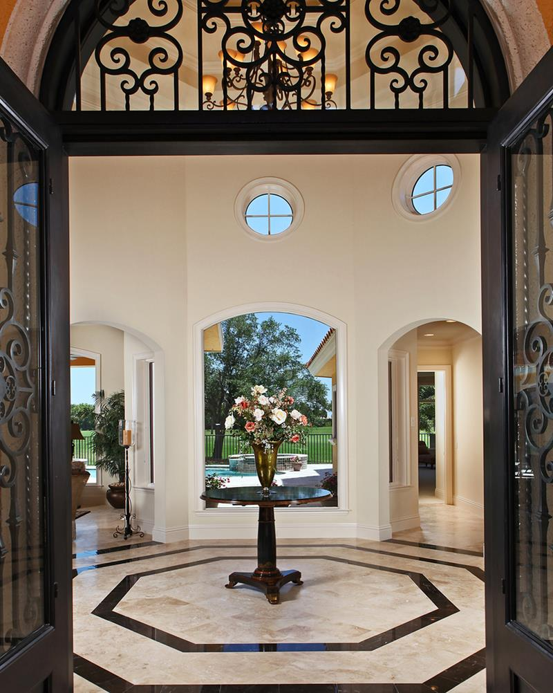 56 Beautiful And Luxurious Foyer Designs-9