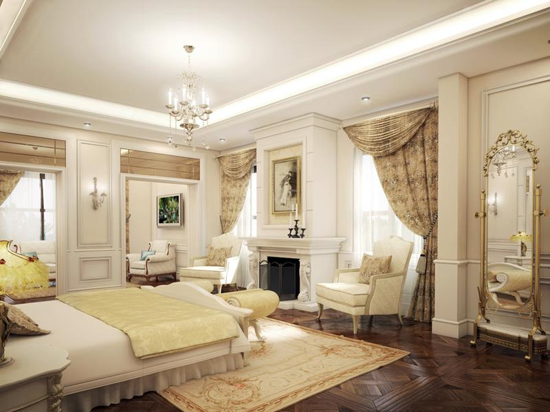 61 Master Bedrooms Decorated By Professionals-36