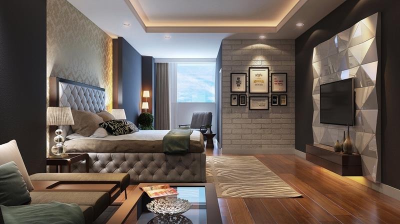 61 Master Bedrooms Decorated By Professionals-61