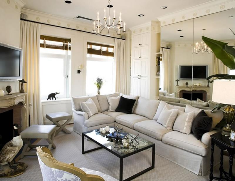 22 Living Room Designs With Sectionals-22
