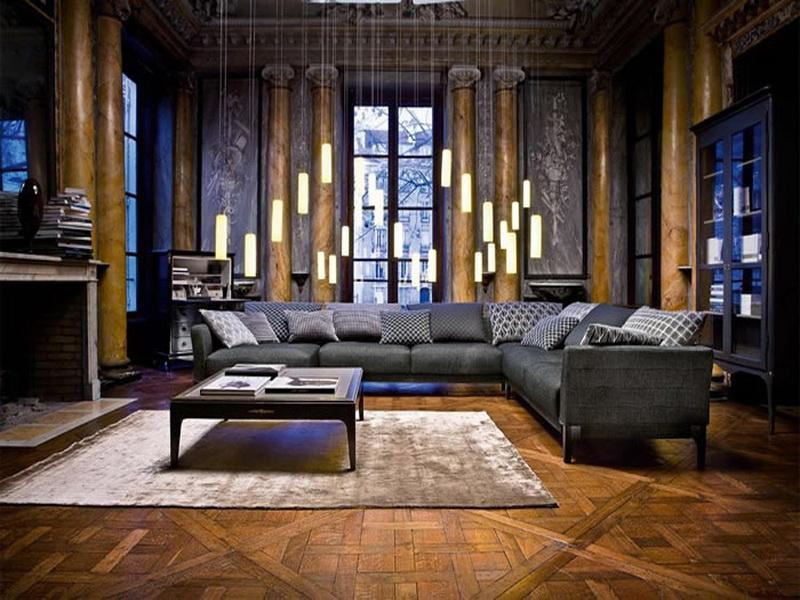 22 Living Room Designs With Sectionals-5