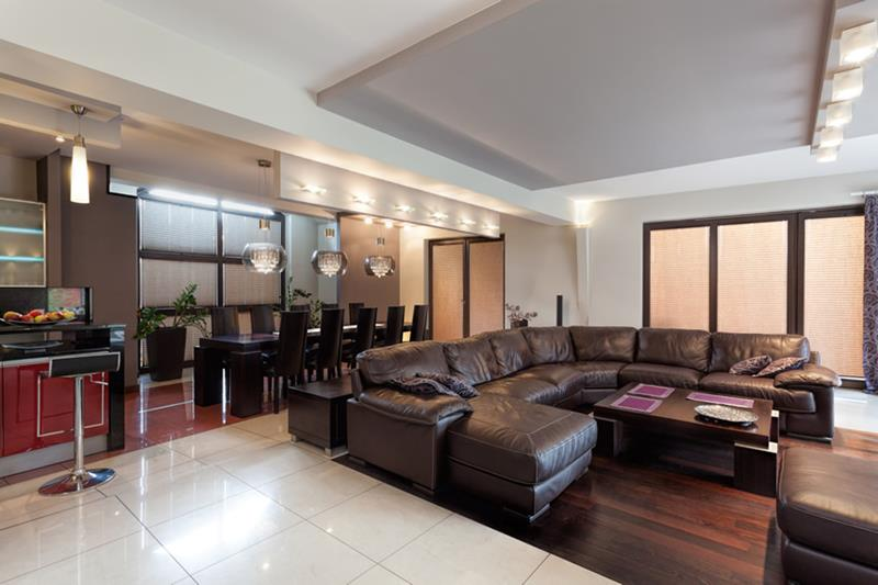 22 Living Rooms With Leather Furniture-11