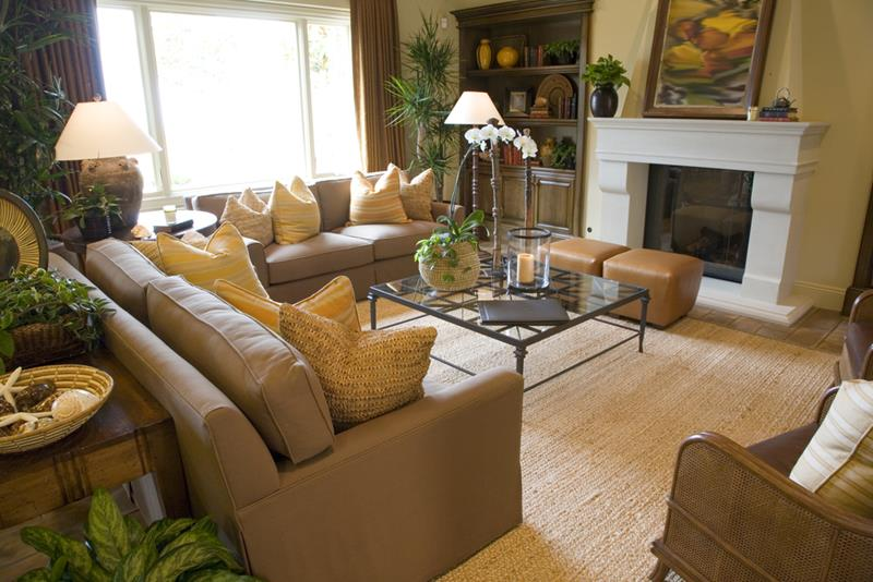 22 Living Rooms With Leather Furniture-16