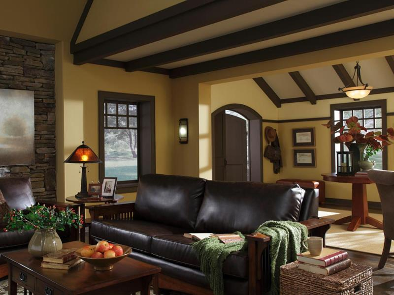 22 Living Rooms With Leather Furniture-18
