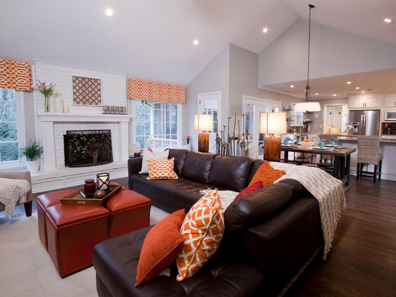 22 Living Rooms With Leather Furniture-20