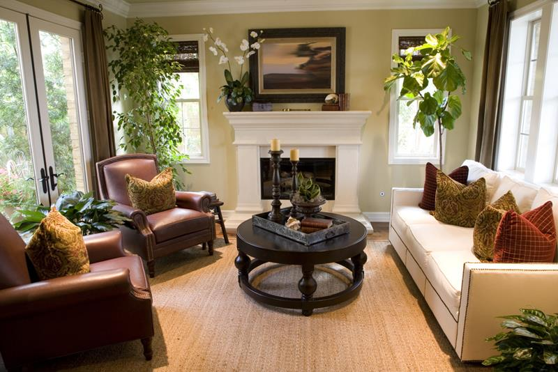22 Living Rooms With Leather Furniture-21