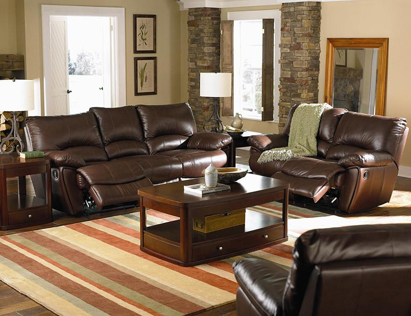 22 Living Rooms With Leather Furniture-3