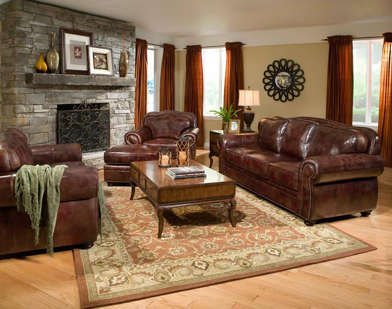 22 Living Rooms With Leather Furniture-4