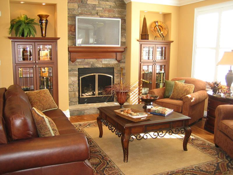 22 Living Rooms With Leather Furniture-5