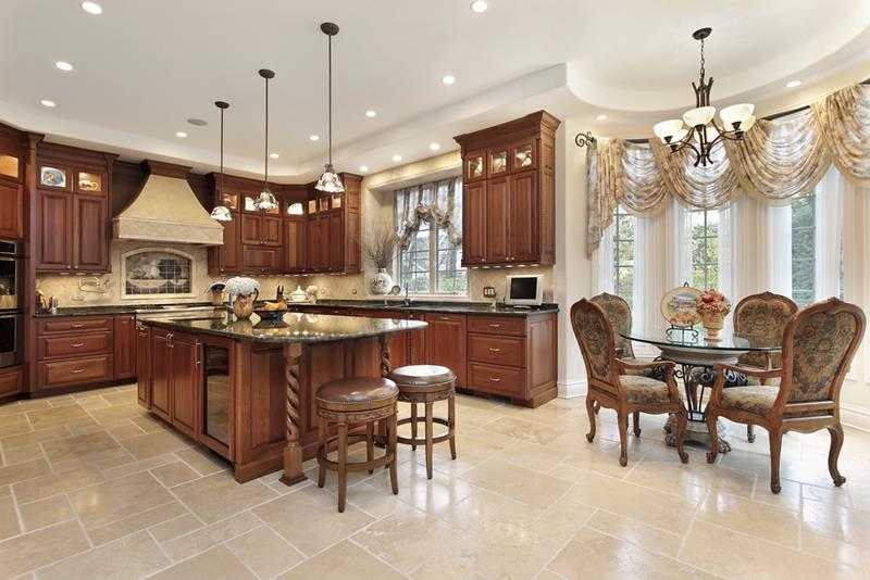 22 Stunning Kitchens With Tile Floors   Page 2 of 5