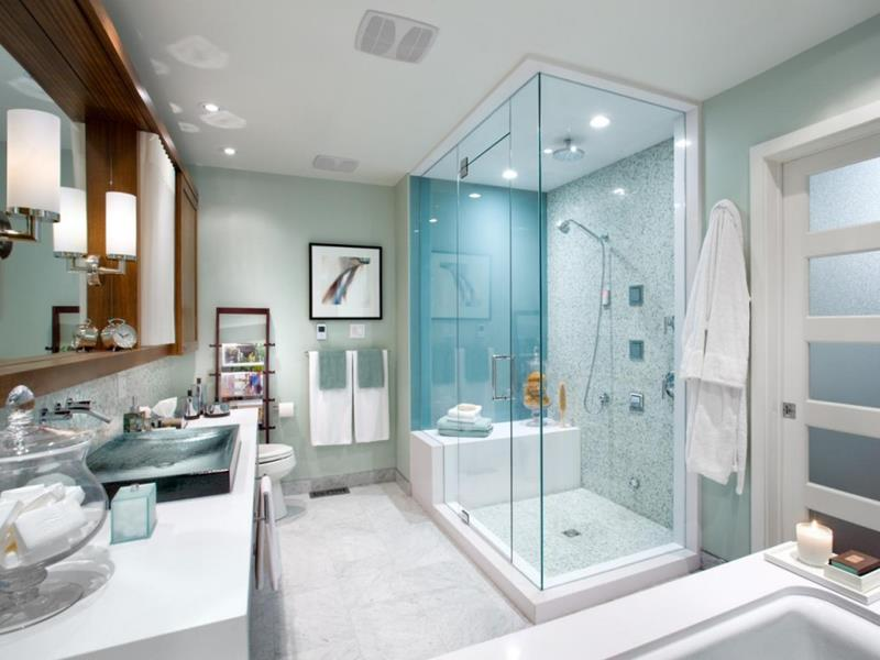 24 Beautiful Master Bathrooms-17