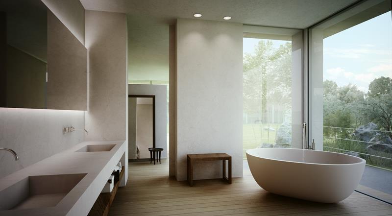 24 Beautiful Master Bathrooms-18