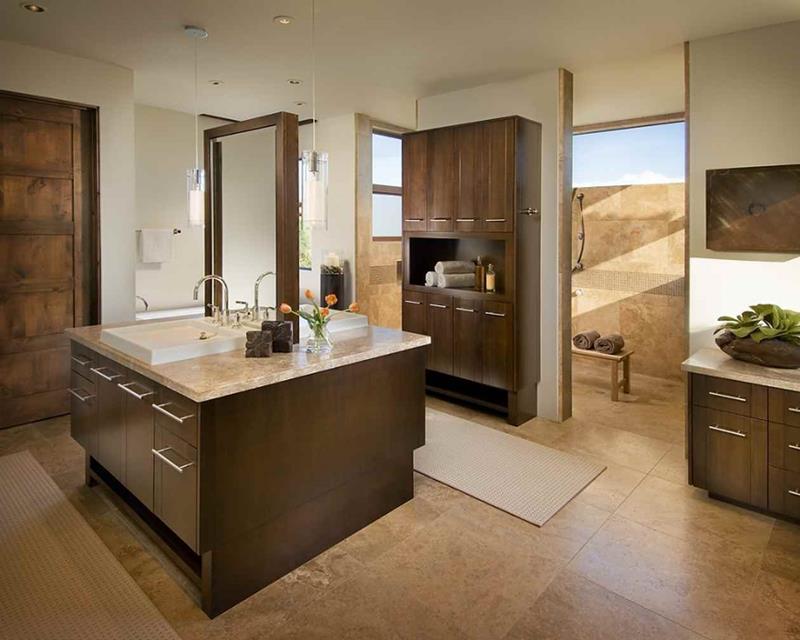 24 Beautiful Master Bathrooms-9