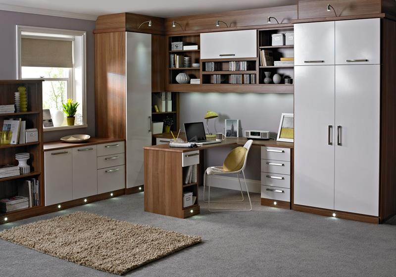 image named 24 Functional Home Office Designs title