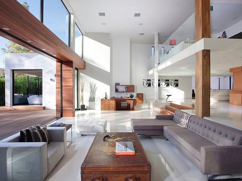 24 Large Open Concept Living Room Designs-10