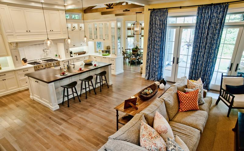 24 Large Open Concept Living Room Designs-11