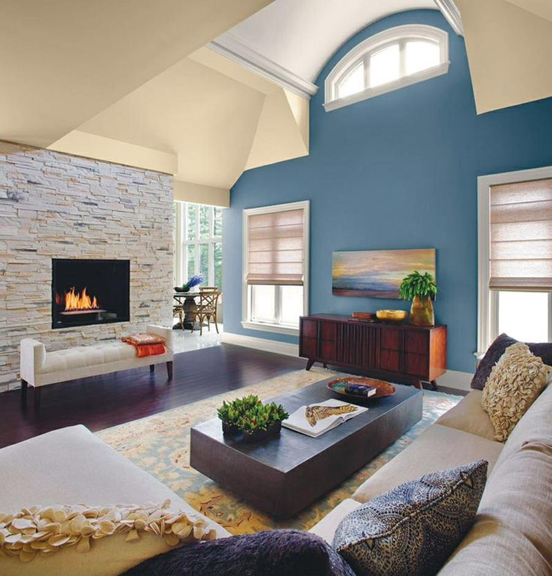 24 Living Room Designs With Accent Walls - Page 4 of 5
