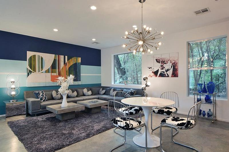 24 Living Room Designs With Accent Walls-6
