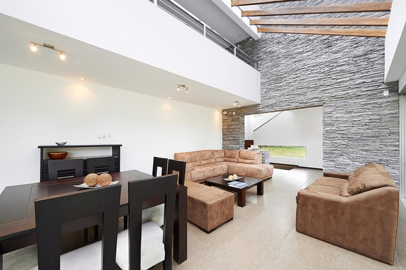 24 Living Rooms With Vaulted Ceilings-13