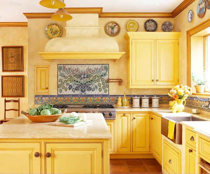 25 Bright Kitchen Designs-5