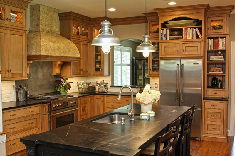 25 Farmhouse Style Kitchens-19