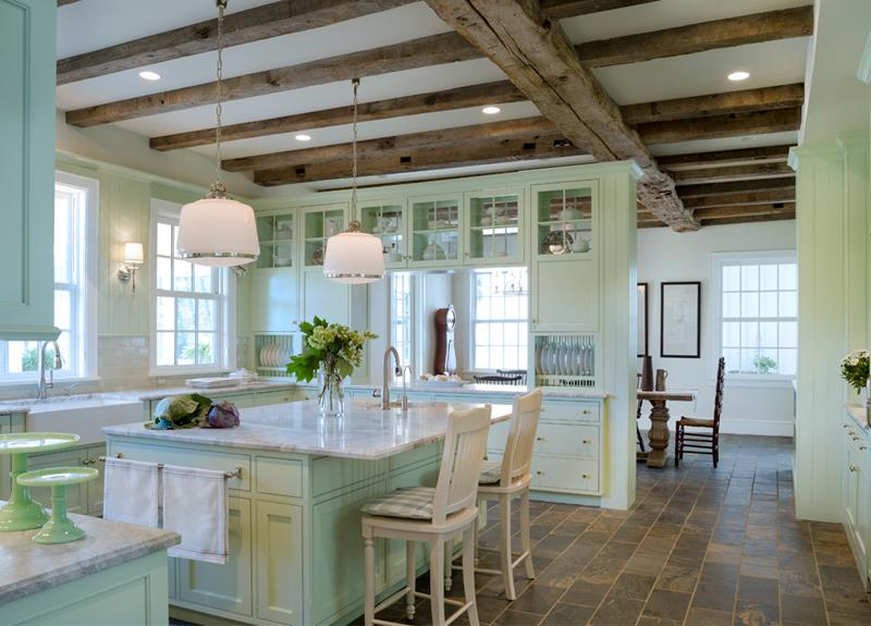 25 Farmhouse Style Kitchens-21