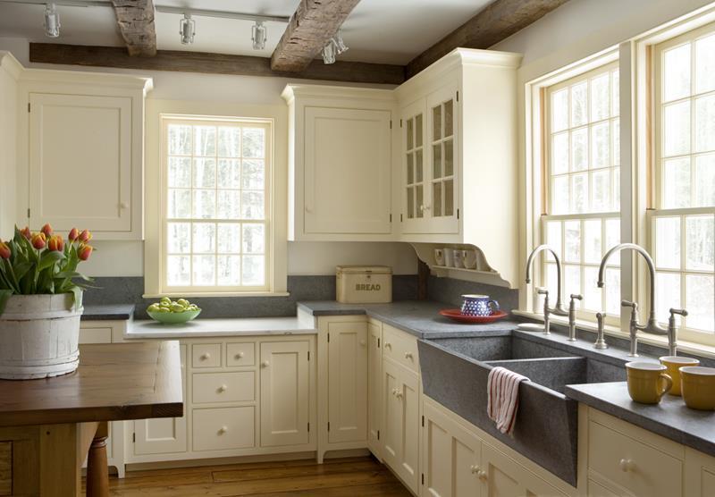 25 Farmhouse Style Kitchens-6