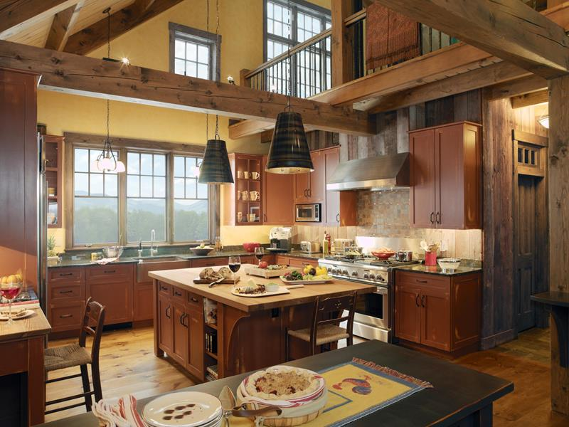 25 Farmhouse Style Kitchens-8
