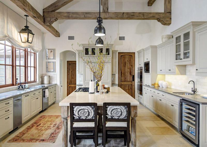image named 25 Farmhouse Style Kitchens title