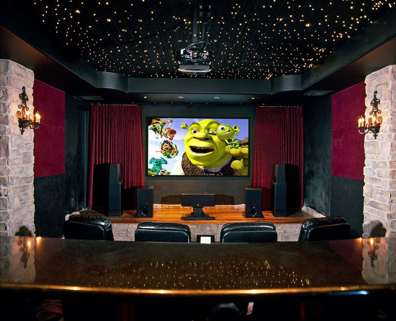 25 Jaw Dropping Home Theater Designs-10