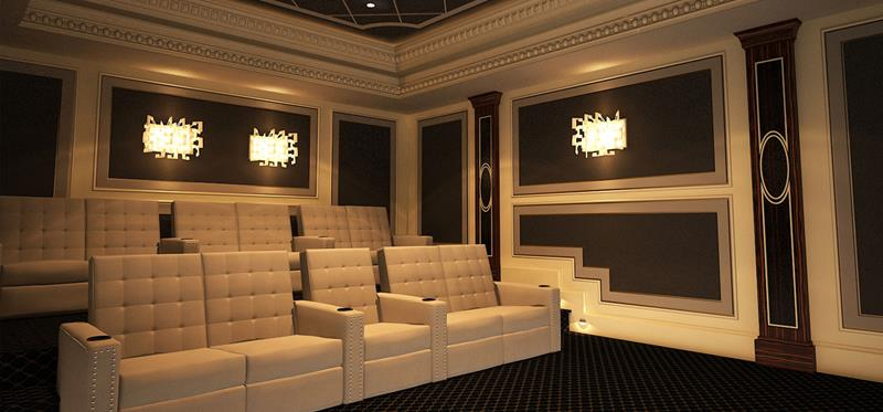 25 Jaw Dropping Home Theater Designs-20