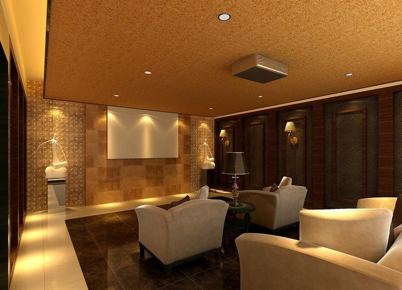 25 Jaw Dropping Home Theater Designs-23