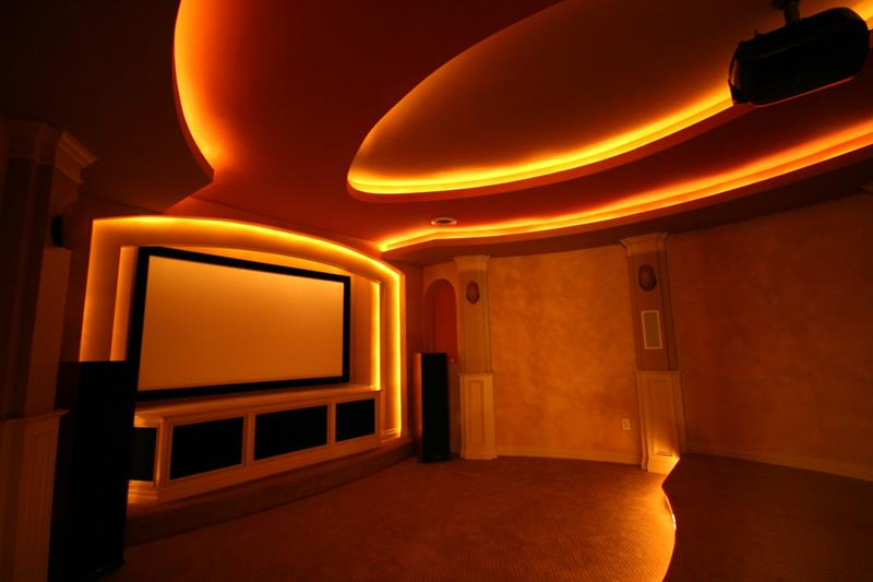 25 Jaw Dropping Home Theater Designs-25