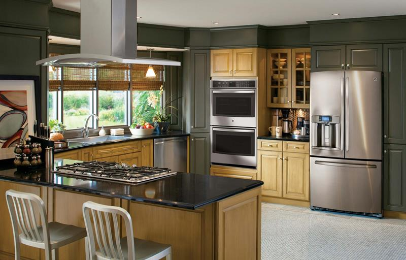 25 Kitchens With Stainless Steel Appliances-1