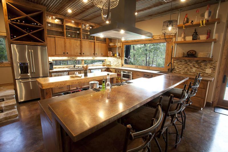 25 Stunning Kitchens with Big Windows-8