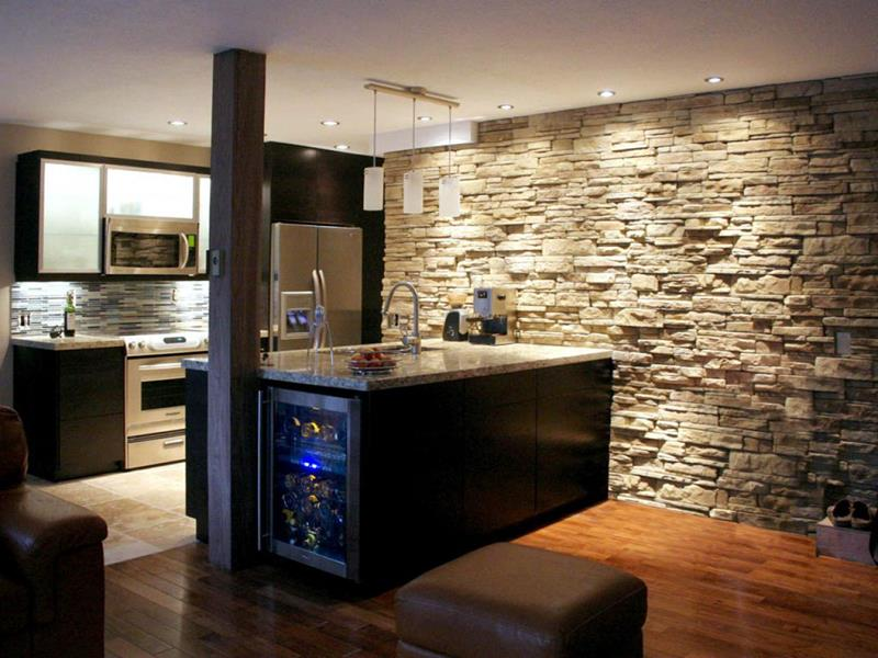 25 Windowless Kitchen Design Ideas-16
