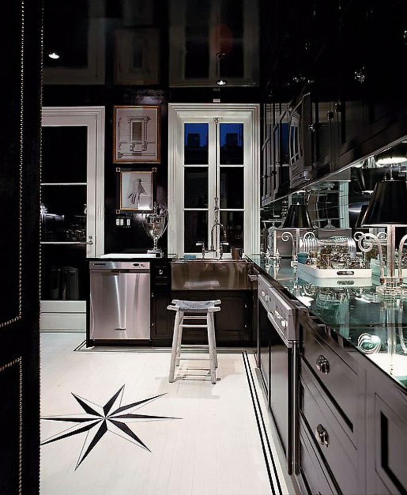 25 of the Hottest Kitchen Noir Designs-10