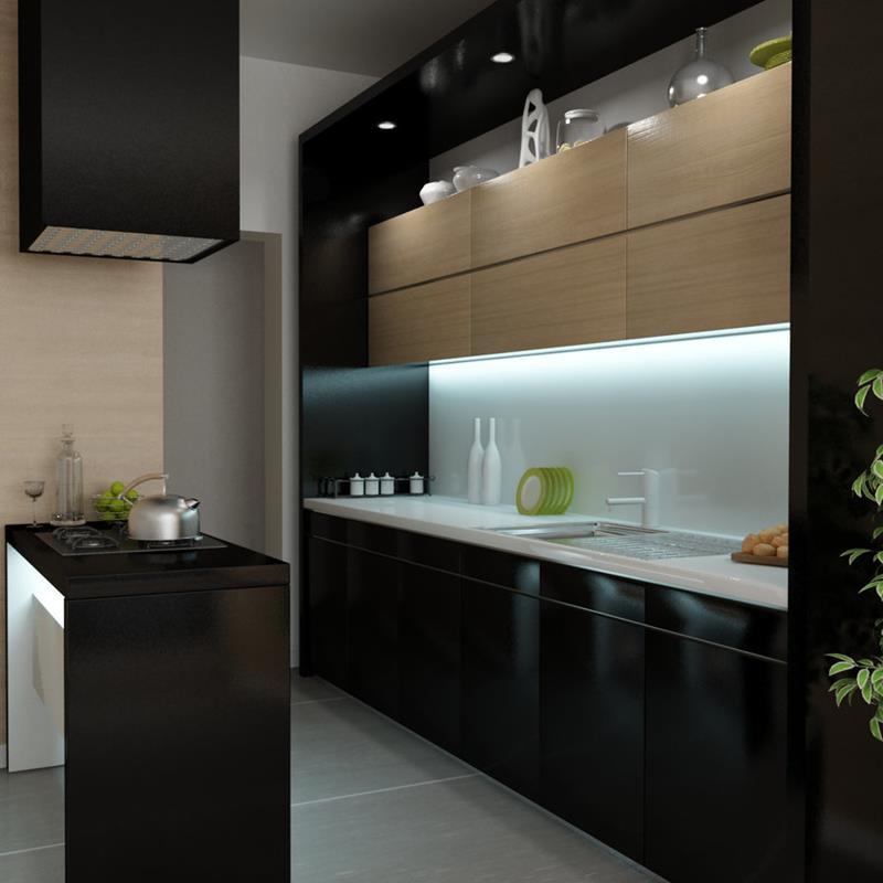 25 of the Hottest Kitchen Noir Designs-11