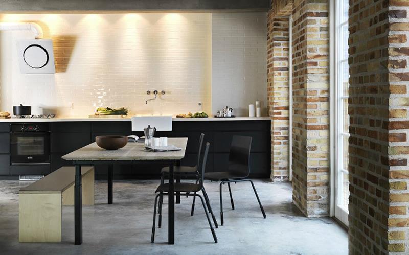 25 of the Hottest Kitchen Noir Designs-12
