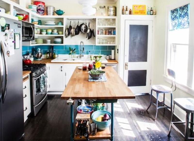 20 Pictures of Before and After Kitchen Makeovers With Cost-4