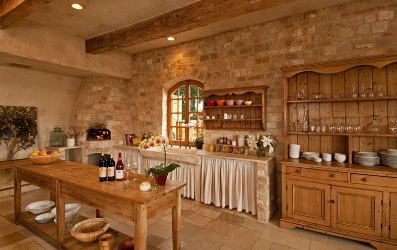 23 Brown Kitchen Designs-1