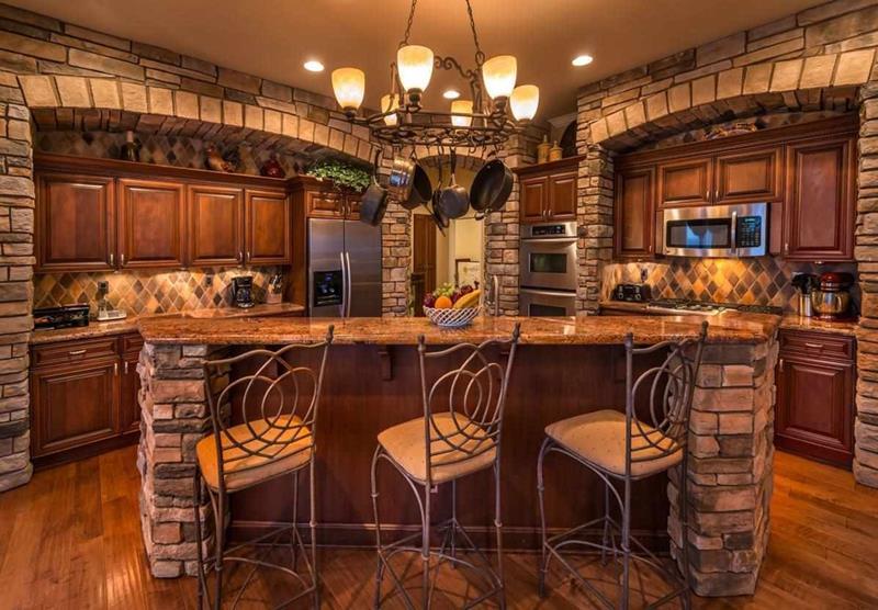 23 Brown Kitchen Designs-6