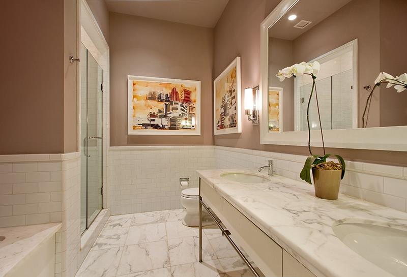 23 Marble Master Bathroom Designs-18