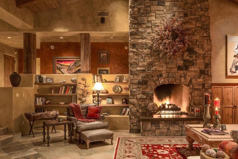 24 Brown Living Room Designs-2